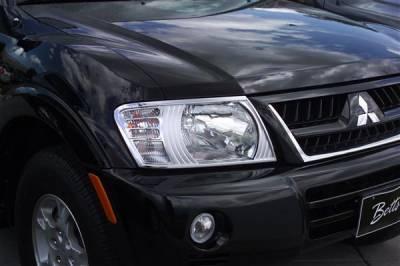 Headlights & Tail Lights - Headlight Covers - Putco - Honda Ridgeline Putco Headlight Covers - 401204