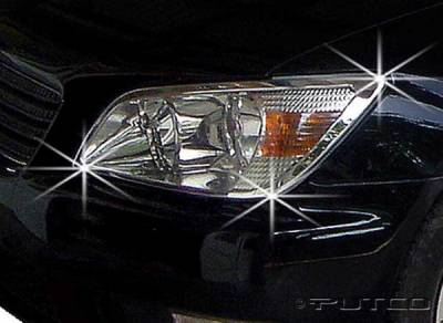 Headlights & Tail Lights - Headlight Covers - Putco - Lexus IS Putco Headlight Covers - 401224