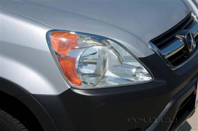 Headlights & Tail Lights - Headlight Covers - Putco - Honda CRV Putco Headlight Covers - 401233
