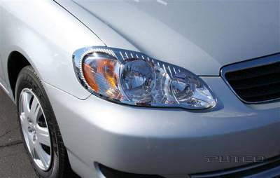 Headlights & Tail Lights - Headlight Covers - Putco - Toyota Corolla Putco Headlight Covers - 401246