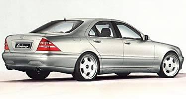S Class - Rear Lip - Lorinser - W220 Standard Rear Bumper