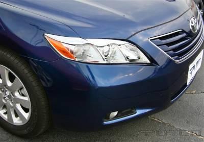 Headlights & Tail Lights - Headlight Covers - Putco - Toyota Camry Putco Headlight Covers - 401256