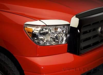 Headlights & Tail Lights - Headlight Covers - Putco - Toyota Tundra Putco Headlight Covers - 401263