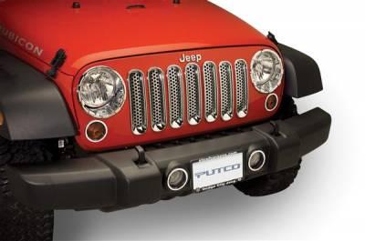 Headlights & Tail Lights - Fog Lights - Putco - Jeep Wrangler Putco Foglight Cover - 401265