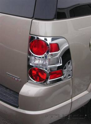 Headlights & Tail Lights - Tail Light Covers - Putco - Ford Explorer Putco Taillight Covers - 401268