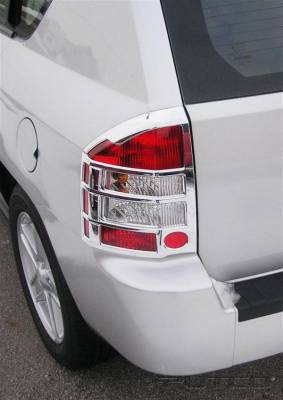 Headlights & Tail Lights - Tail Light Covers - Putco - Jeep Compass Putco Taillight Covers - 401269