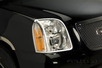 Headlights & Tail Lights - Headlight Covers - Putco - GMC Yukon Putco Headlight Covers - 401507