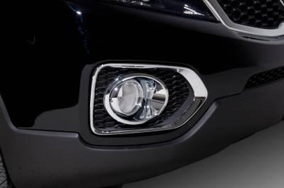 Headlights & Tail Lights - Fog Lights - Putco - Kia Sorento Putco Foglight Cover - 401705
