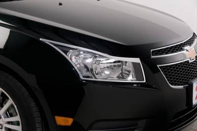 Headlights & Tail Lights - Headlight Covers - Putco - Chevrolet Cruze Putco Headlight Covers - 401712