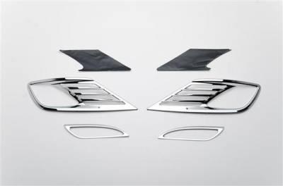 Headlights & Tail Lights - Fog Lights - Putco - Hyundai Elantra Putco Foglight Cover - 401775