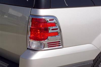 Headlights & Tail Lights - Tail Light Covers - Putco - Ford Expedition Putco Taillight Covers - 401803