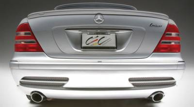 Body Kits - Rear Lip - Lorinser - Edition Rear Bumper (Use with Lorinser Muffler)