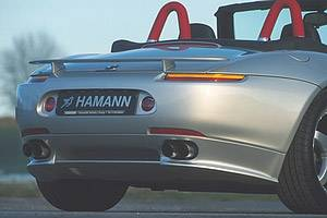Z8 - Rear Lip - Hamann - Rear Apron Add On