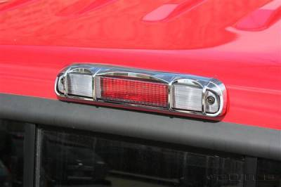 Headlights & Tail Lights - Third Brake Lights - Putco - Ford F350 Superduty Putco Third Brake Light Cover - 401812