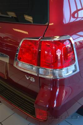 Headlights & Tail Lights - Tail Light Covers - Putco - Toyota Land Cruiser Putco Taillight Covers - 401872