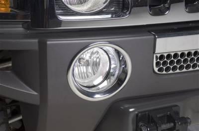 Headlights & Tail Lights - Fog Lights - Putco - Hummer H3T Putco Foglight Cover - 402312