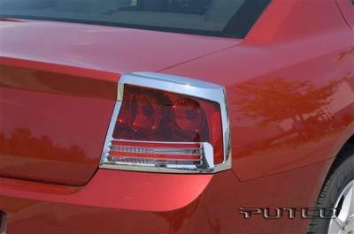 Headlights & Tail Lights - Tail Light Covers - Putco - Dodge Charger Putco Taillight Covers - 402813