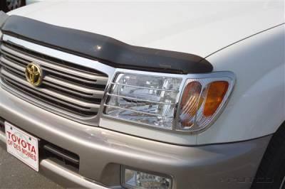 Headlights & Tail Lights - Headlight Covers - Putco - Toyota Land Cruiser Putco Headlight Covers - 403201