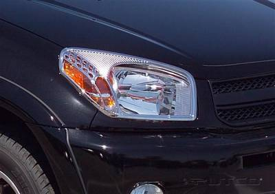Headlights & Tail Lights - Headlight Covers - Putco - Toyota Rav 4 Putco Headlight Covers - 403204