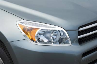 Headlights & Tail Lights - Headlight Covers - Putco - Toyota Rav 4 Putco Headlight Covers - 403214