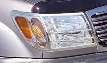 Headlights & Tail Lights - Headlight Covers - Putco - Toyota Land Cruiser Putco Headlight Covers - 403501