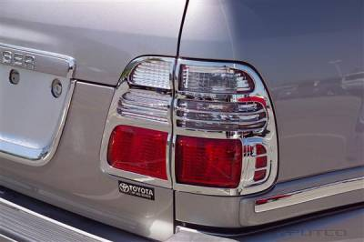 Headlights & Tail Lights - Tail Light Covers - Putco - Toyota Land Cruiser Putco Taillight Covers - 403802