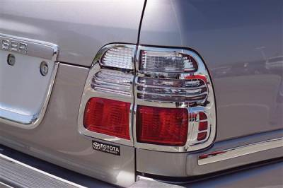 Headlights & Tail Lights - Tail Light Covers - Putco - Toyota Land Cruiser Putco Taillight Covers - 403805