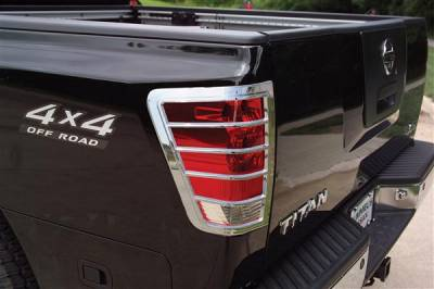 Headlights & Tail Lights - Tail Light Covers - Putco - Nissan Titan Putco Taillight Covers - 403809