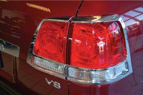 Headlights & Tail Lights - Tail Light Covers - Putco - Toyota Land Cruiser Putco Taillight Covers - 403811