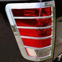Headlights & Tail Lights - Tail Light Covers - Putco - Nissan Armada Putco Taillight Covers - 403813
