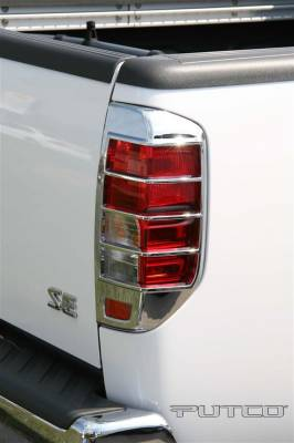 Headlights & Tail Lights - Tail Light Covers - Putco - Nissan Frontier Putco Taillight Covers - 403815