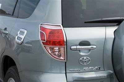 Headlights & Tail Lights - Tail Light Covers - Putco - Toyota Rav 4 Putco Taillight Covers - 403816