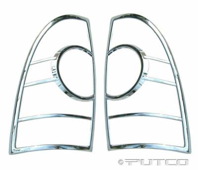 Headlights & Tail Lights - Tail Light Covers - Putco - Toyota Tacoma Putco Taillight Covers - 403820