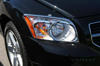 Headlights & Tail Lights - Headlight Covers - Putco - Dodge Caliber Putco Headlight Covers - 403833