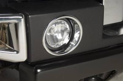 Headlights & Tail Lights - Fog Lights - Putco - Hummer H2 Putco Foglight Cover - 404201