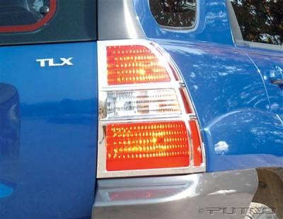 Headlights & Tail Lights - Tail Light Covers - Putco - Kia Sportage Putco Taillight Covers - 409102