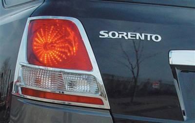 Headlights & Tail Lights - Tail Light Covers - Putco - Kia Sorento Putco Taillight Covers - 409302