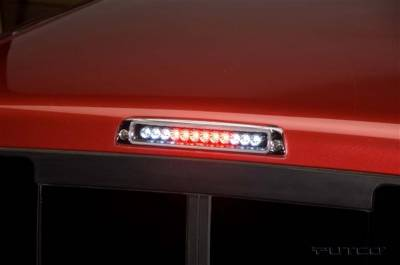 Headlights & Tail Lights - Third Brake Lights - Putco - Dodge Ram Putco LED Third Brake Lights - Clear - 900232