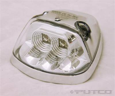 Headlights & Tail Lights - Roof Lights - Putco - Dodge Ram Putco LED Roof Lamp Replacements - Clear - 900532