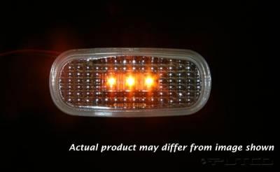 Headlights & Tail Lights - Corner Lights - Putco - Dodge Ram Putco Fender Marker Lights - 920056