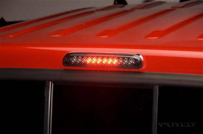 Headlights & Tail Lights - Third Brake Lights - Putco - Ford F250 Superduty Putco LED Third Brake Lights - Smoke - 920206