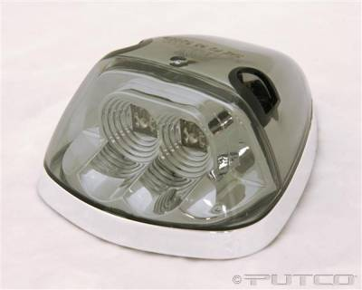 Headlights & Tail Lights - Roof Lights - Putco - Dodge Ram Putco LED Roof Lamp Replacements - Smoke - 920532
