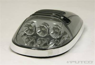 Headlights & Tail Lights - Roof Lights - Putco - Dodge Ram Putco LED Roof Lamp Replacements - Smoke - 920534