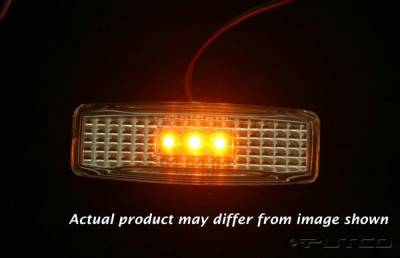 Headlights & Tail Lights - Corner Lights - Putco - Dodge Ram Putco Fender Marker Lights - 930032