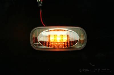 Headlights & Tail Lights - Corner Lights - Putco - Dodge Ram Putco Fender Marker Lights - 930056