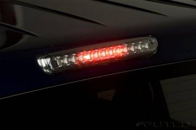 Headlights & Tail Lights - Third Brake Lights - Putco - GMC Sierra Putco LED Third Brake Lights - Ion Chrome - 930289