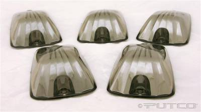 Headlights & Tail Lights - Roof Lights - Putco - Chevrolet Silverado Putco LED Roof Lamp Replacements - Ion Chrome - 930502