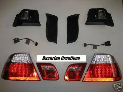 Headlights & Tail Lights - Led Tail Lights - OE - LED Tail Convertible