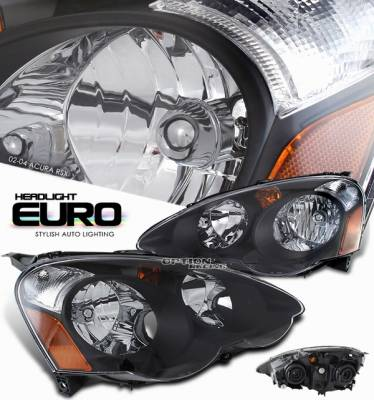 Headlights & Tail Lights - Headlights - OptionRacing - Acura RSX Option Racing Headlight - 10-10105