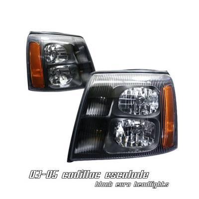 Headlights & Tail Lights - Headlights - OptionRacing - Cadillac Escalade Option Racing Headlight - 10-14107